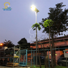80W All In One Solar Street Lights في الصومال
