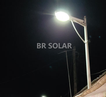 40W Solar Street Light All In One في السودان