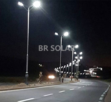 7M40W All in One Solar Street Light في الجزائر